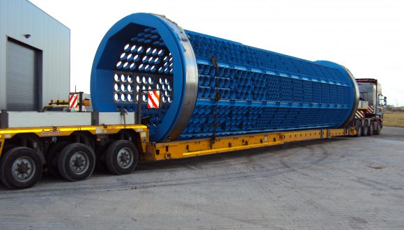drum screen transport