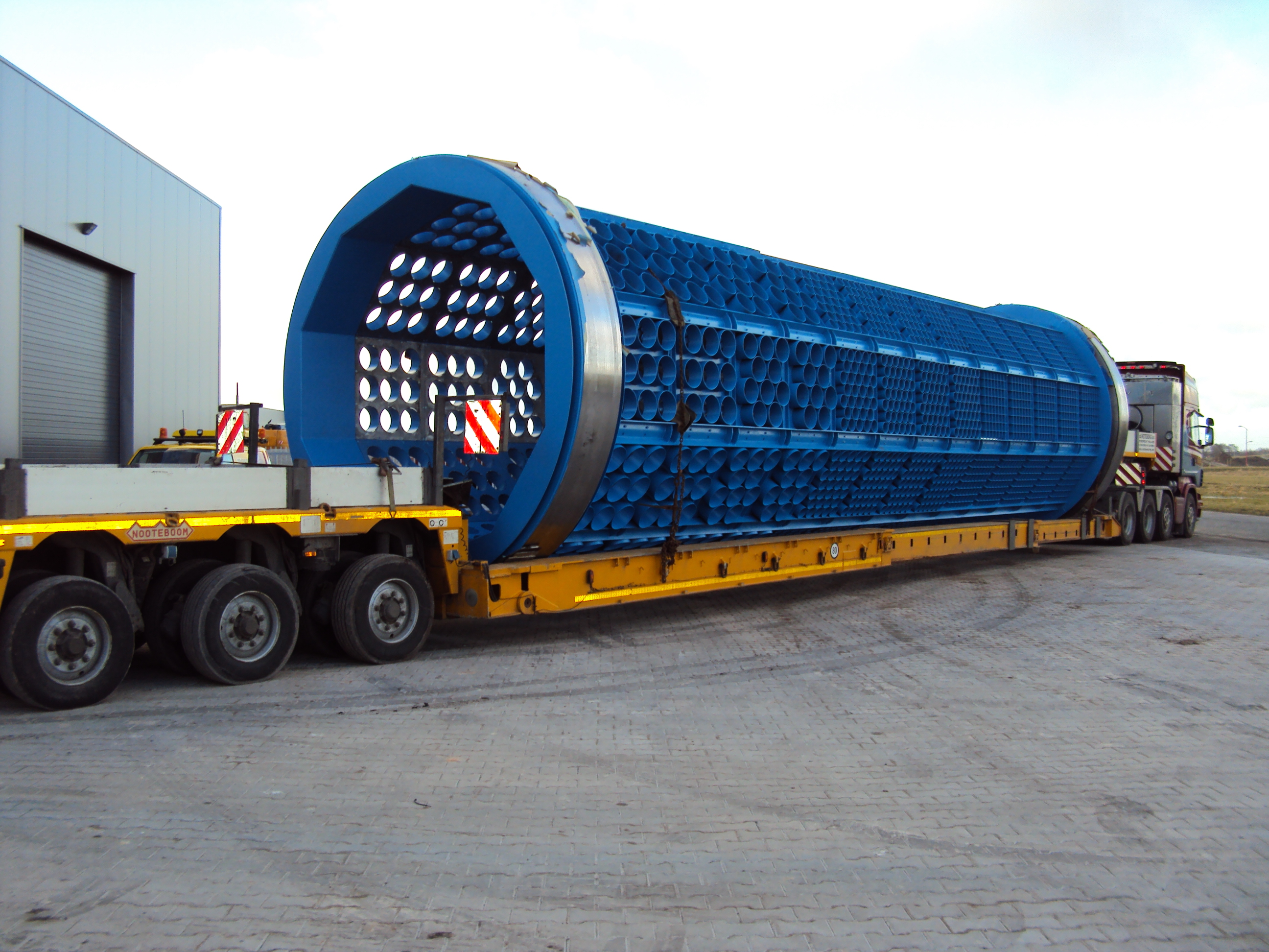 drum screen transport