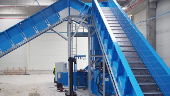hain conveyor installation