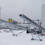 stockpile belt conveyor